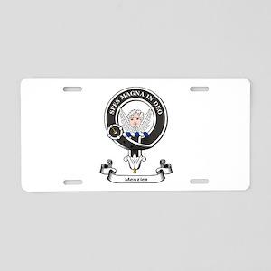 Badge-Menzies [Aberdeen] Aluminum License Plate